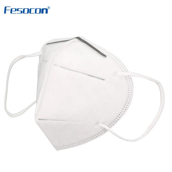 Melt-Blown Fabrics Protective Disposable Respirator Mask Facial Mask KN95