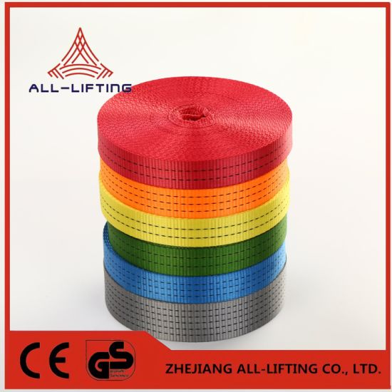 China Polyester Webbing for Ratchet Straps - China High