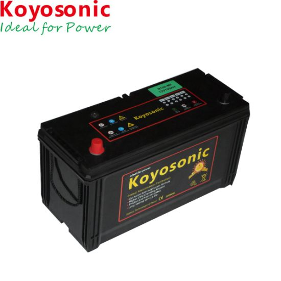 China Best Price 12V 100ah Sealed Maintenance Free Car