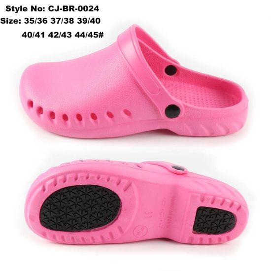 Unisex EVA Sandal Safety Clogs