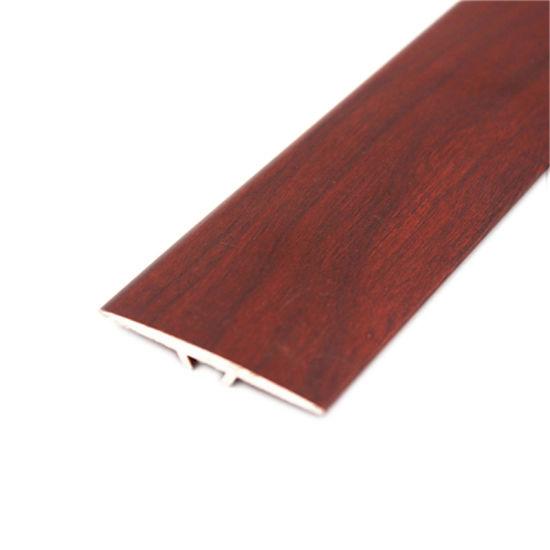 Floor Cover Strip Aluminum Wood Grain, Transition Pieces For Laminate Flooring To Carpet