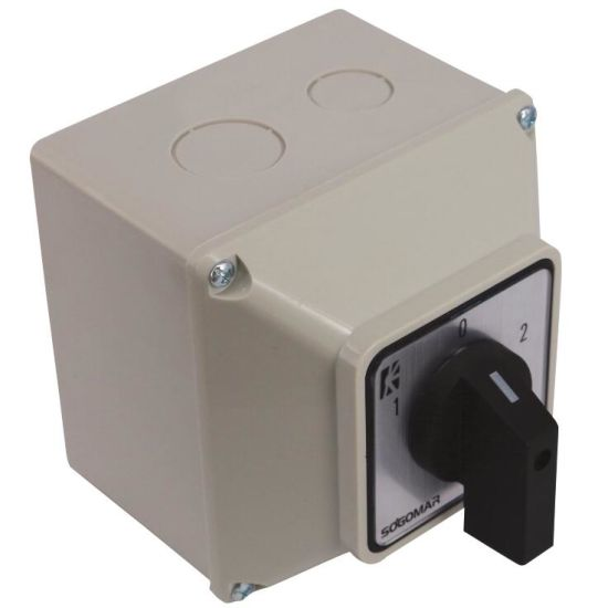 China Waterproof Electrical Isolator Switch Box 32a China