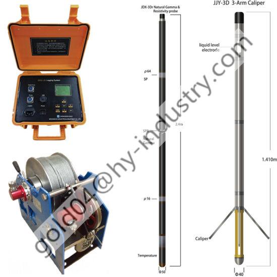 Geophysical Digital Borehole Logging System Gd Natural Gamma and Resistivity Logger