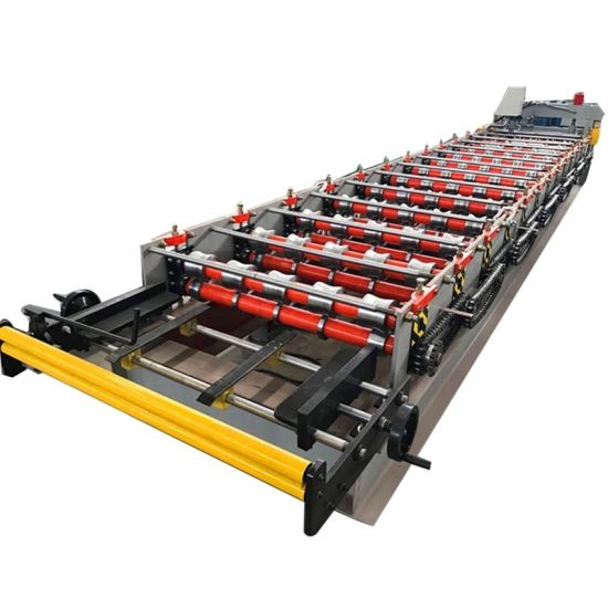 High Quality Glazed Tile Sheet Roof Press Making Machine Roll Forming Machinery pictures & photos