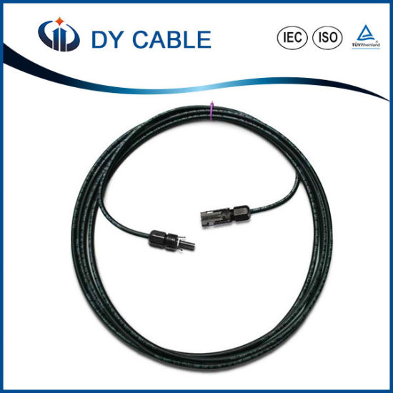 2X6mm2 /4mm2 Twin Core /AWG Solar PV Cable (TUV Approved)