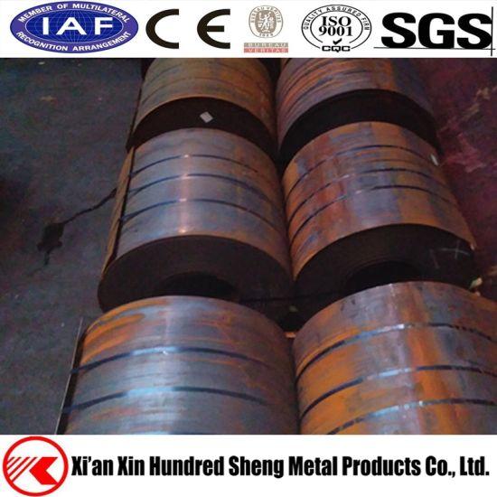 AISI 1065 1074 High Carbon Rolled Door Spring Steel Coils pictures & photos