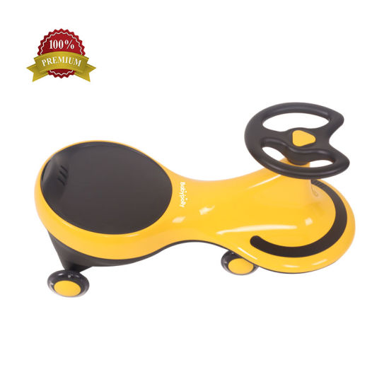 Baby Swing Car Wheels Without Music and Flash for Kids Children Twist Car/New Design Baby Swing Car Without Music for 1-3 Years Old