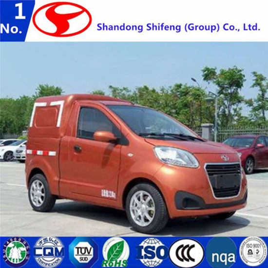 China Mini Electric Van Car Electric Car With Cargo Box China