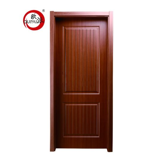 Factory Direct Supply Semi Circle Flower Pattern Carved Entry Swing Interior Room Door Design