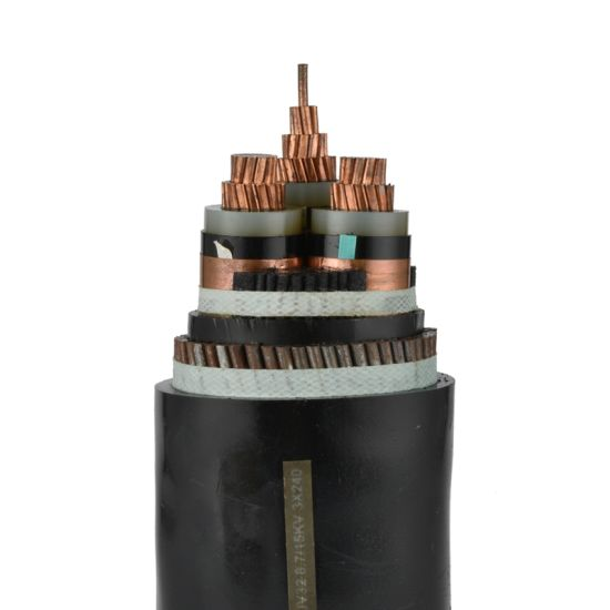 Copper/Aluminum Conductor XLPE Insulated PVC Sheathed Steel Wire Armored Electric Power Cable