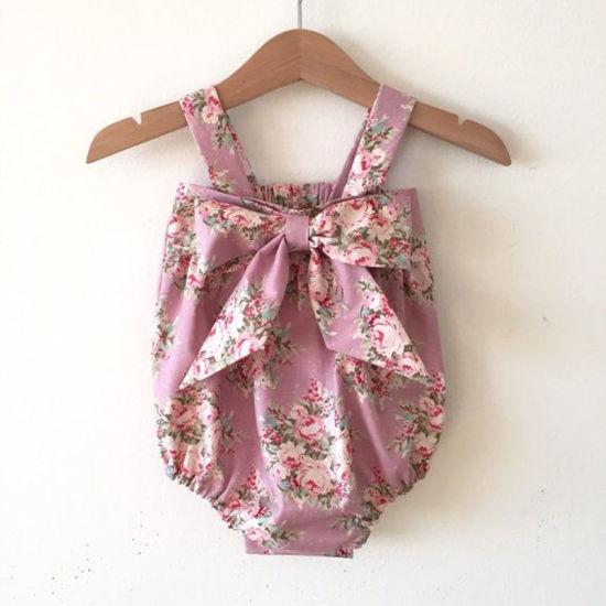 Fashion Designs Baby Summer Fancy Jumpsuits Girls Romper