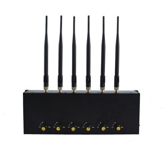 China Low Price Adjustable 6 Antennas Cell Phone Signal