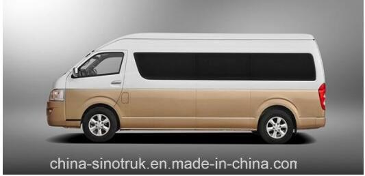 China Big Sale Luxury Van C6 with 18 Seats Rhd at Lowest Price