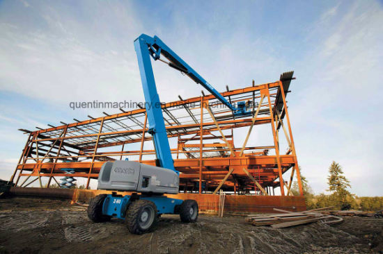 14m Diesel Power Self-Propelled Articulating Boom Lift for Construction