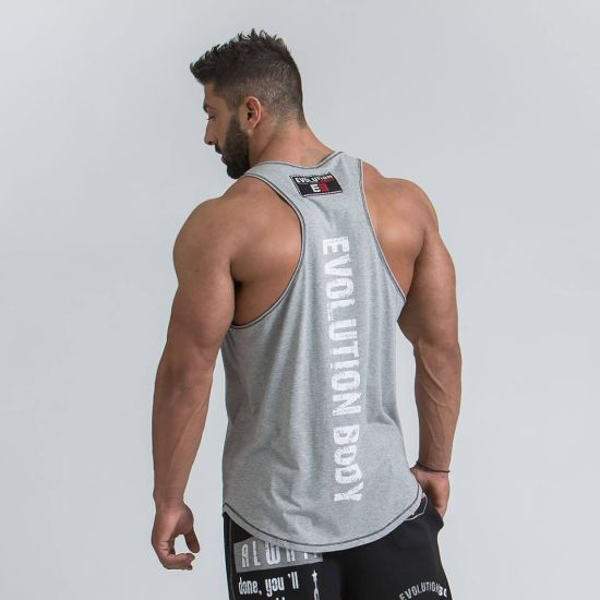 968d57186259e9 China Manufacturer Custom Mens Fitness Black Clothing Cotton Active Gym  Tank Top. Get Latest Price