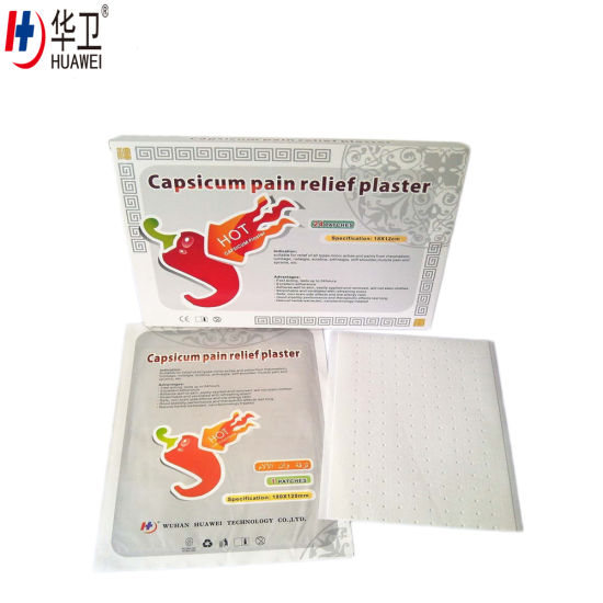 Chinese Traditional Herbal, Chilli Plaster, Heat Pain Relief Plaster