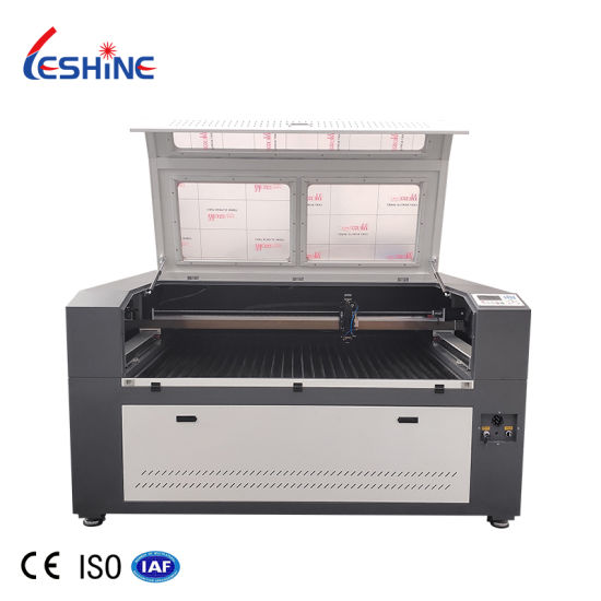 1325 1390 CO2 Metal Nonmetal Laser Cutting Machine with Yyc Gear Rack for Cutting 2mm Steel, 20mm MDF Laser Cutting Machine