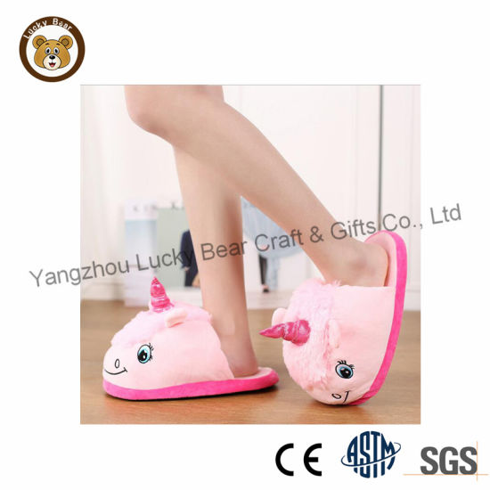 Baby Pink Toy Child Girl Slippers pictures & photos
