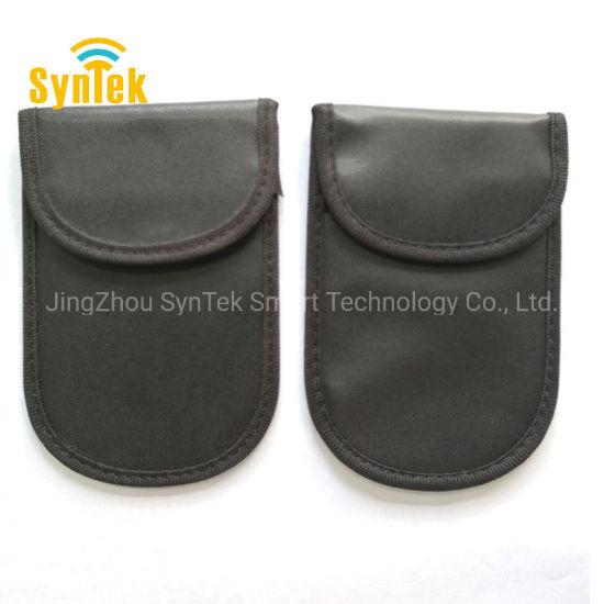 Car Key Signal Blocking Pouch RFID Block Faraday Cage Cell Phone Jammer  Signal Blocker Case Bag