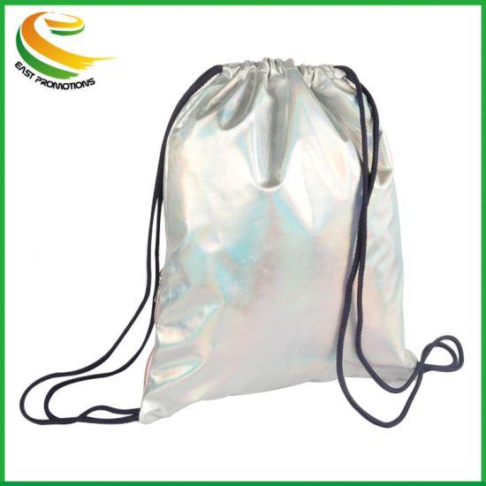 Hot Sale Travel Logo Shoe Storage Drawstring Bag