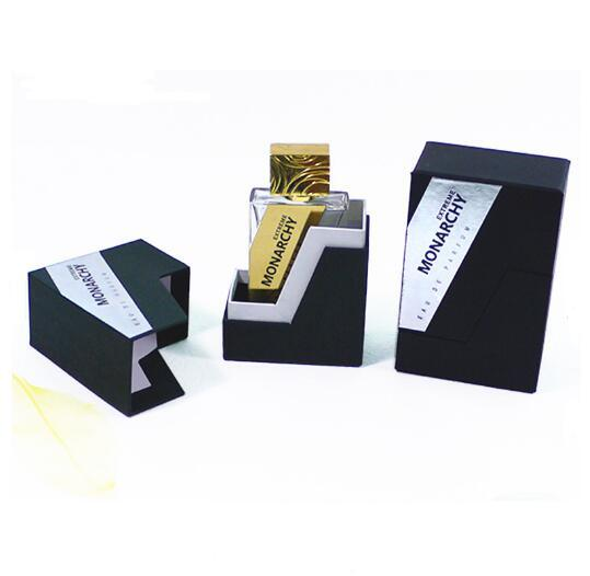 Rigid Slant Paperboard Separated Perfume Box Hot Foil Printing for Perfume Bottles pictures & photos