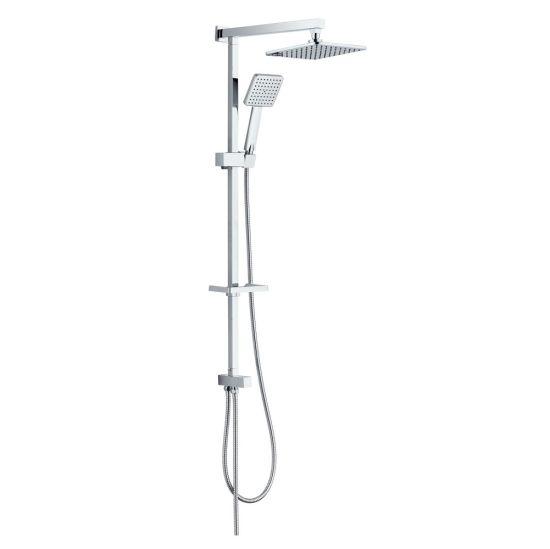 Stainless Steel Chromed Adjustable Handheld Bathroom Accessories Shower Set