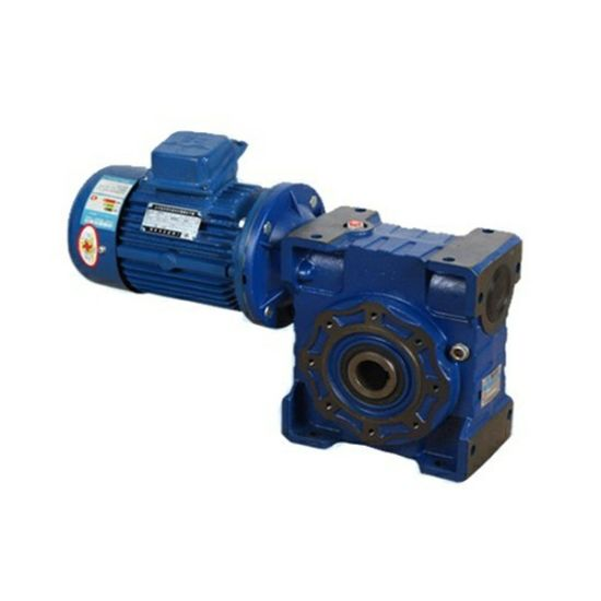 Nmrv110 Cast Iron Worm Gearbox Reducer with 2.2kw 3kw 3HP 4HP Electric Motor