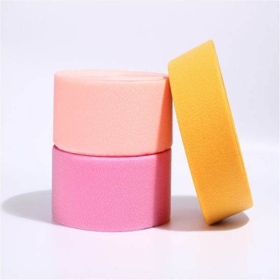 Nylon Tape Colored Sew on Hook and Loop Special for Diamond Polishing Pads