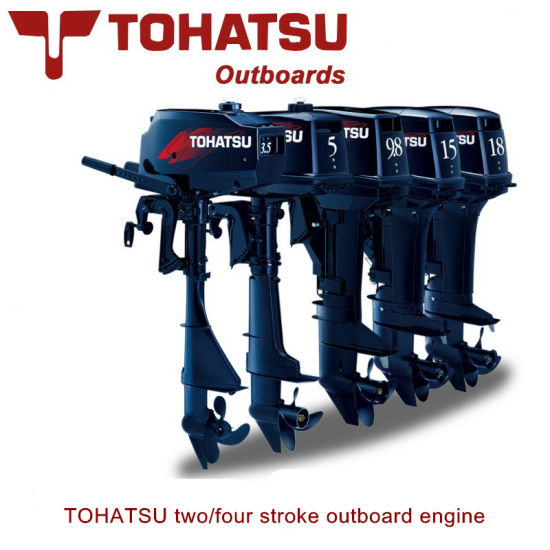China Tohatsu Outboard Motor Two Stroke Four Stroke Outboard
