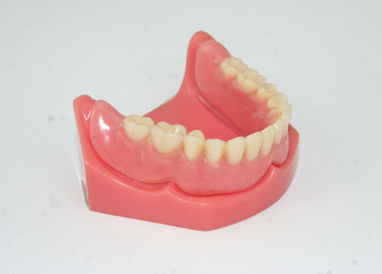 Full Acrylic Denture with Acrylic Teeth Set up & Finish /Full Mouth Restoration pictures & photos