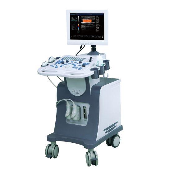 4D Color Doppler Ultrasound Machine with 4D Volumetric Probe