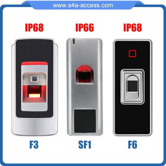 Sf1 Waterproof Fingerprint Reader Access Control System