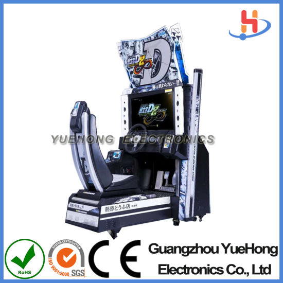 Coin Operated High Income-Producing Machine India D8 Car Racing Game for Amusement Park