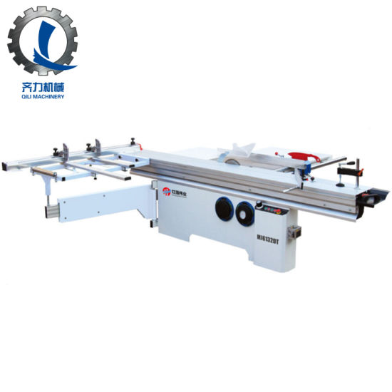 China Professional Woodcutting Sliding Table Panel Saw for Cutting MDF and Solid Wood