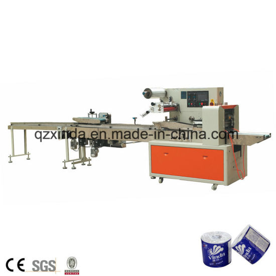 Tissue Paper Roll Packing Machine Single Toilet Paper Wrapping pictures & photos