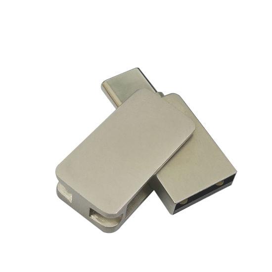 High Speed Cheap 32GB Metal Type C OTG USB Flash Drive for Mobile Phone (UL-OTG039)
