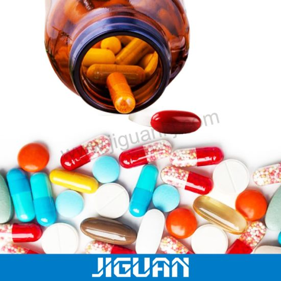 Frosted Amber Glass Pill Bottle for Medical Industry