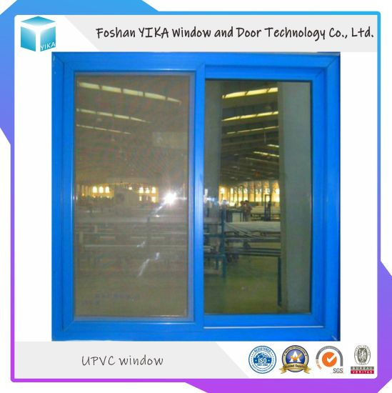 Grill Design PVC/UPVC Sliding Window in Cheap Price