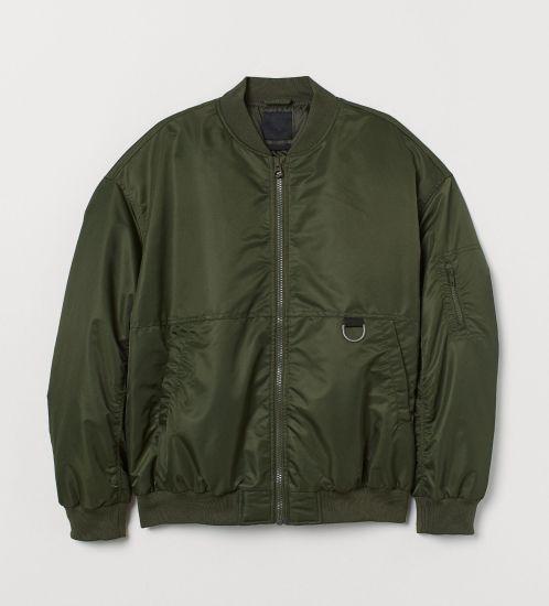 Wholesale Custom 2020 Fashion Mens Bomber Jackets V-Neck Winter Jackets for Men
