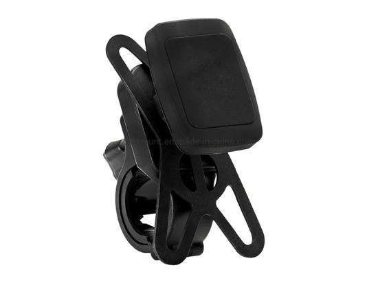 Magnetic Bicycle Handlebar Phone Holder Mount with Butterfly Grip