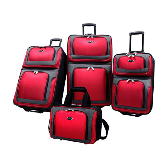 Carry on Lightweight Durable Portable Waterproof Travel Oxford Luggage Set