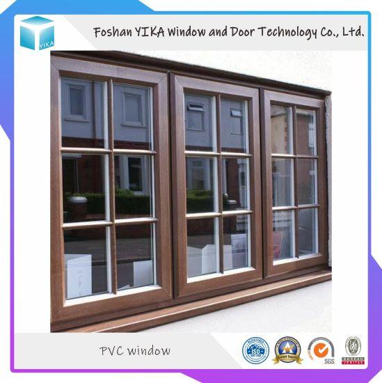 Top Quality Cheap Price Hurricane Impact UPVC Window/ PVC Window/ Vinyl Window