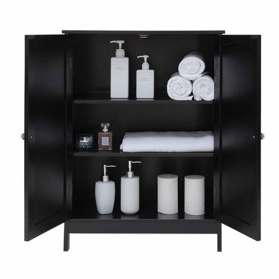China Antique Furniture Black Bathroom, Black Bathroom Storage Cabinet