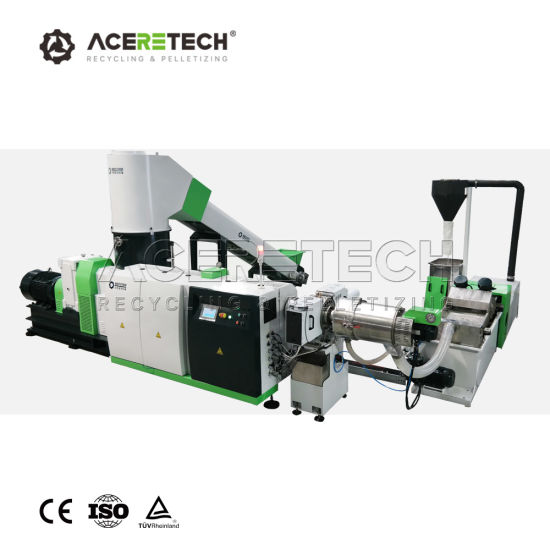 Pet/PP/PE/ Agricultural Film/Woven Bag/Bottle Flakes /Lumps/Board / Pipes Shredder Crushing Washing Line Plastic Recycling Machine Pelletizing System