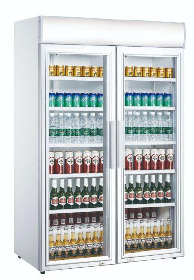 Supermarket Beverage Cooler Beer Freezer Soft Drink Display Chiller (LG-1040CF)