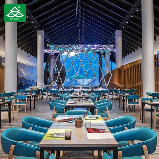 Customized Hotel Restaurant Furniture with Dining Table Chair
