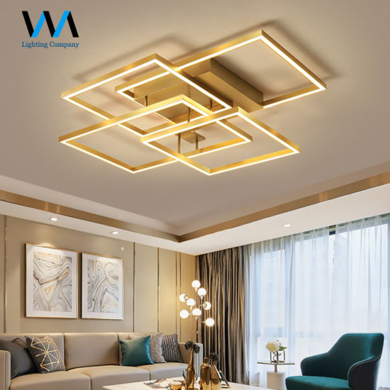 Square Shape Acrylic Led Ceiling Light