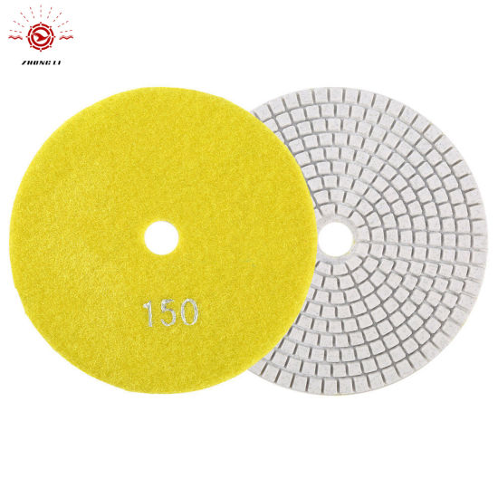 4 Inch Wet and Dry Resin Diamond Polishing Pad pictures & photos