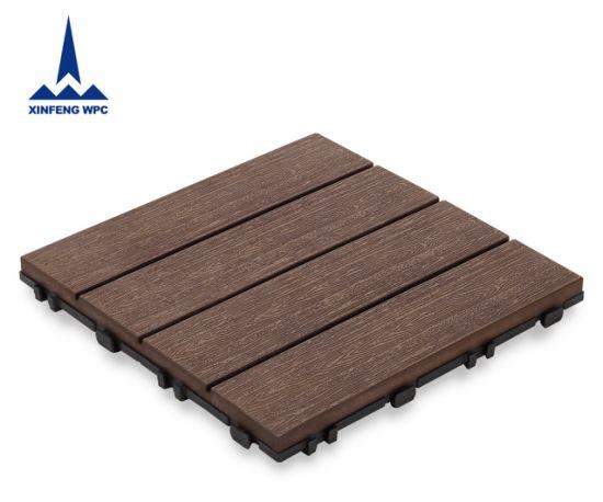 Xf Best Choice WPC Decking Tile Popular WPC DIY Flooring