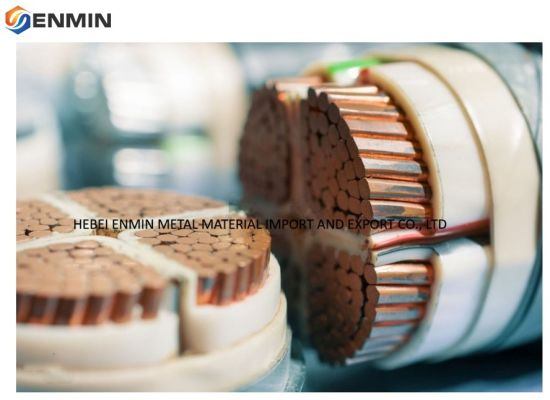 99.9% Purity Millberry Color Copper Wire Scrap with SGS Certificated From China Factory/Manufacturer Supplier